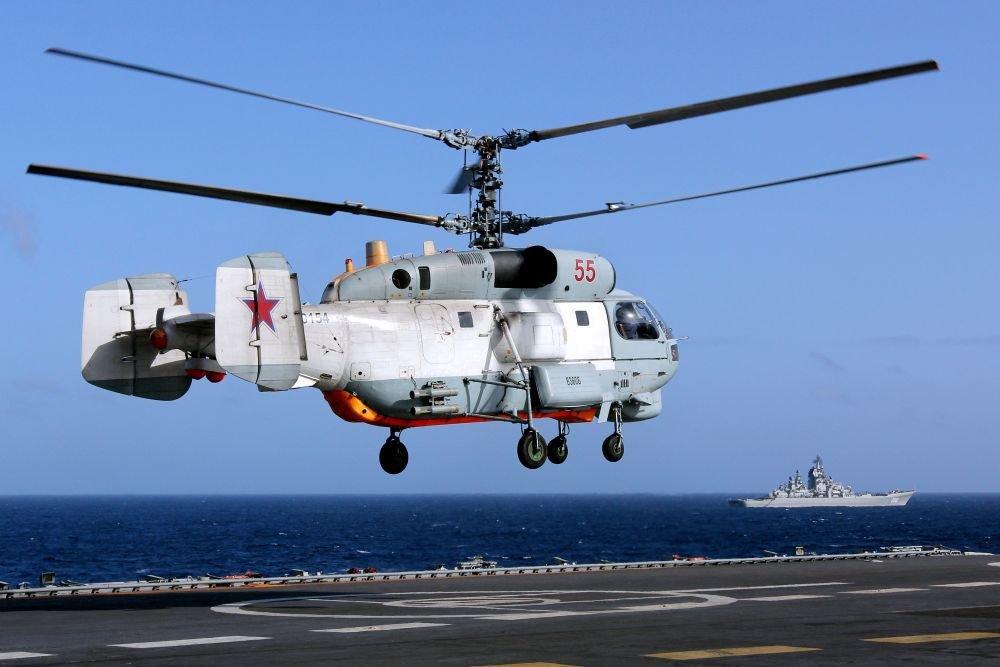На Балтийский флот прибыл первый модернизированный Ка-27М