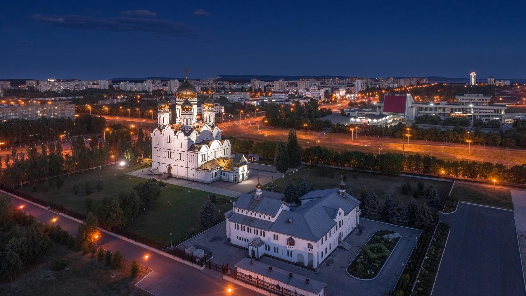 Тольятти с высоты. 2019