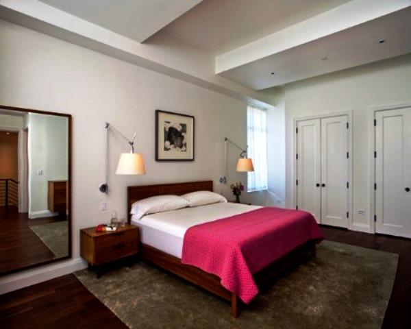 освещение в спальне без люстры фото 6