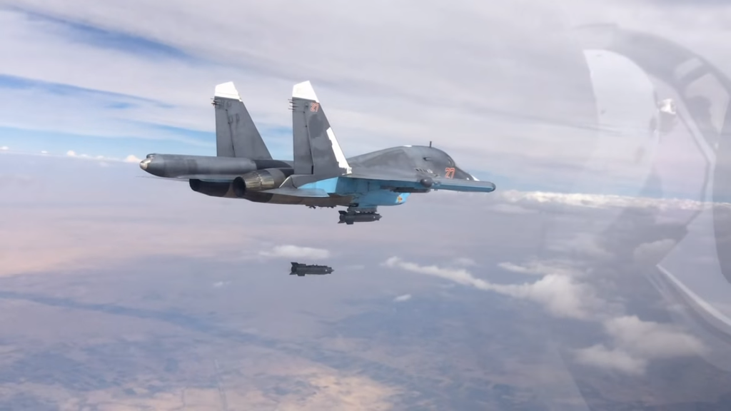 Российская авиабомба КАБ-500-ОД стала рекордсменом среди применяемых в Сирии боеприпасов