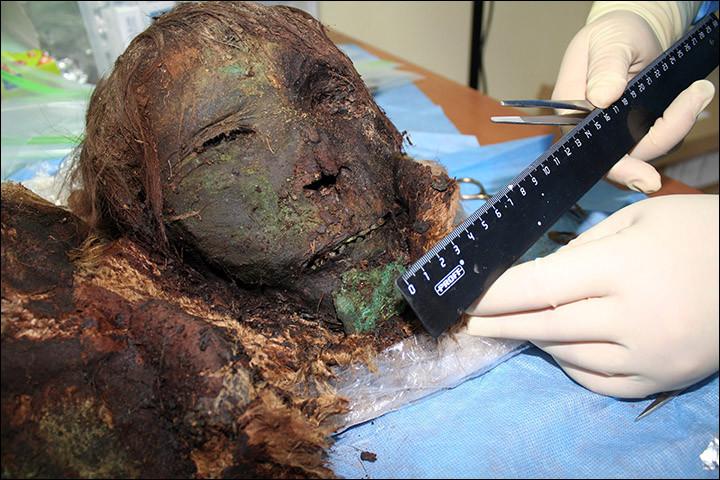 В России раскопали 900-летнюю мумию «полярной принцессы» и она просто поразительна археологи, история, мумия, находка, принцесса, раскопки, удивительно