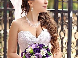 Создаем воздушное и нежное свадебное украшение