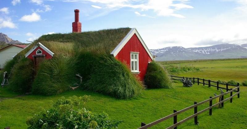 11. Дом в Исландии виды, исландия, красота, фото