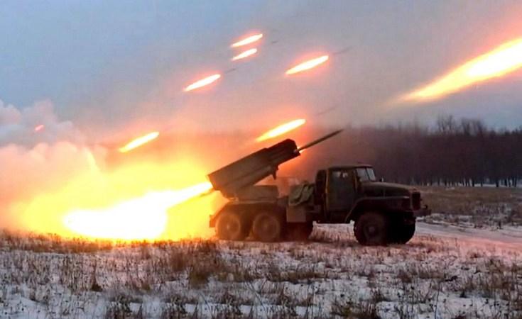 Армия ДНР уничтожила колонну вражеской техники