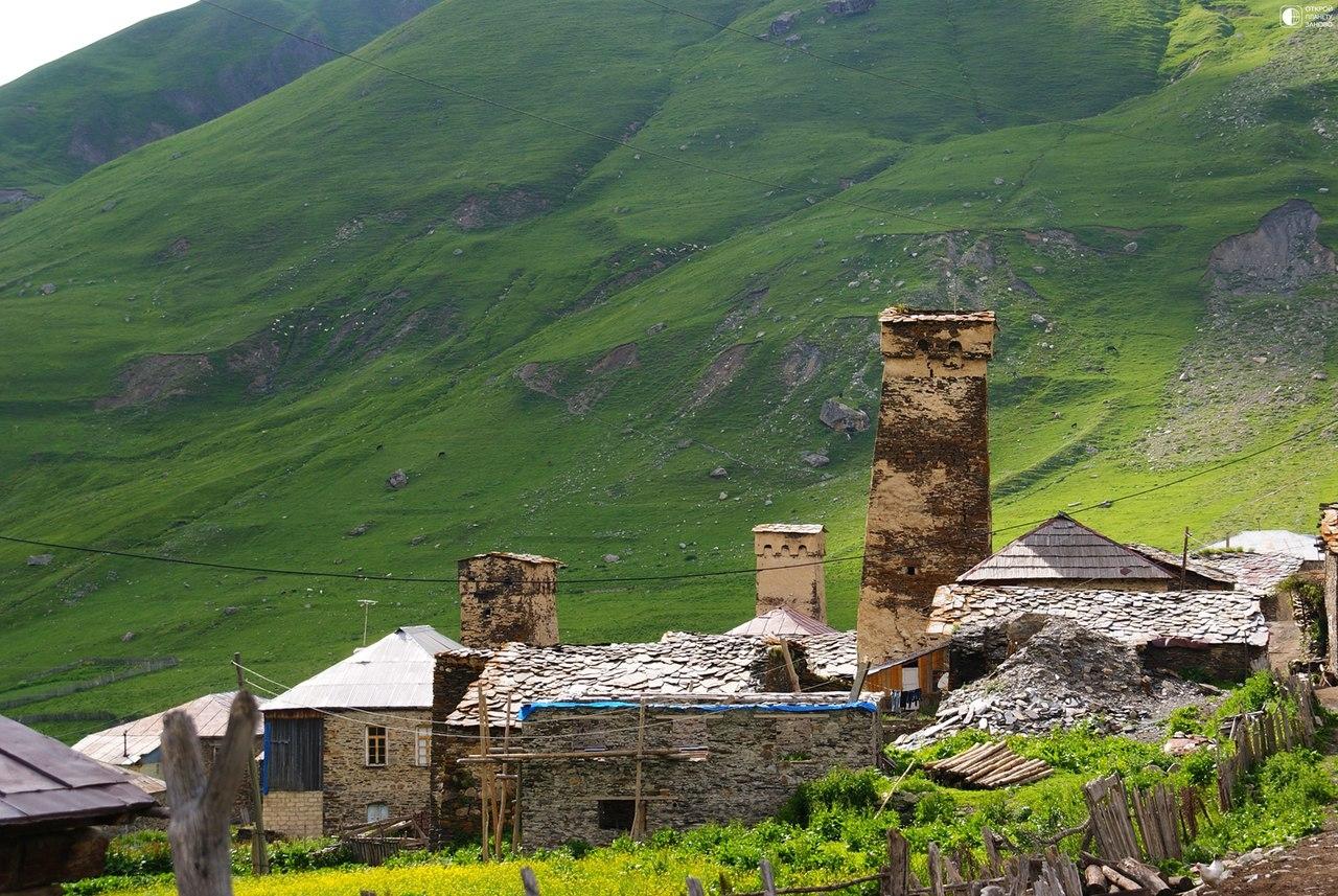 Сванетия - край тысячи башен