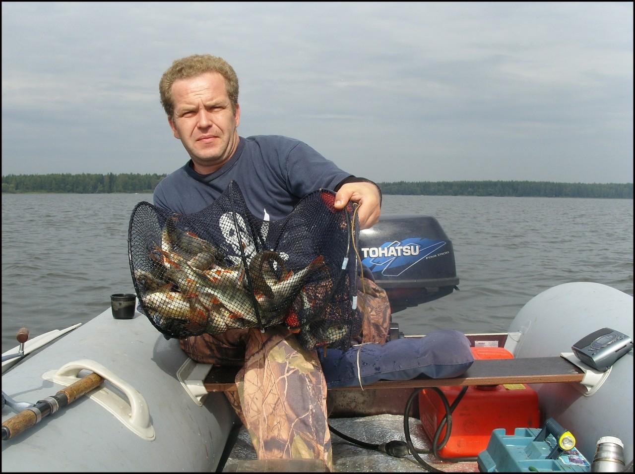 рыбалка на начале 2000