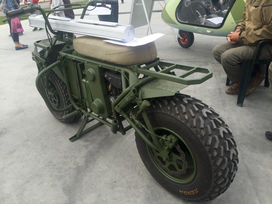 Тихая смерть: Бесшумный военный мотоцикл застанет врагов России врасплох