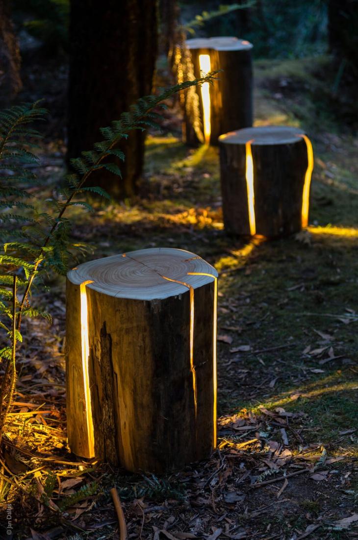 Сказочный садовый светильник (Diy)