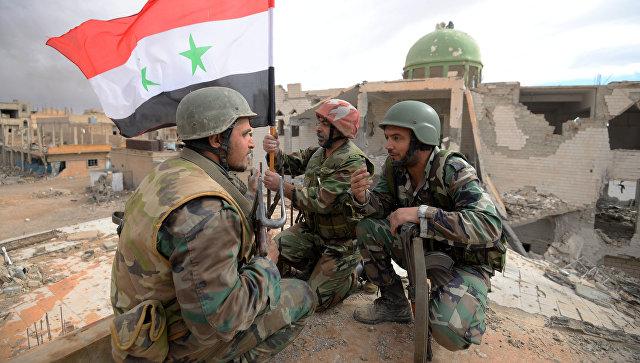 Сирийская армия вернула контроль над газовым месторождением под Пальмирой