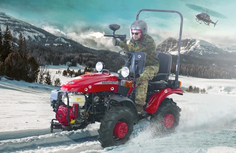В Беларуси придумали биатлон на тракторах