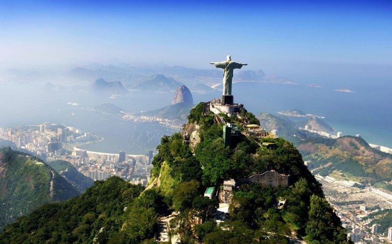Пейзажи Бразилии с высоты птичьего полета