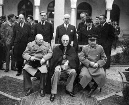Фото крымской конференции 1945