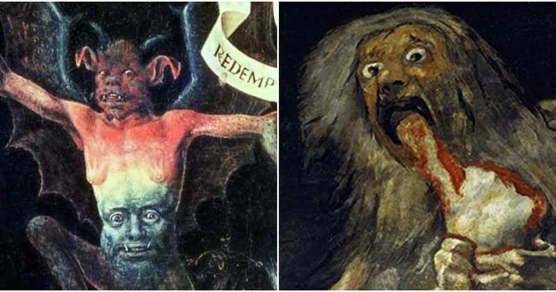 15 знаменитых картин, которые могут напугать до смерти