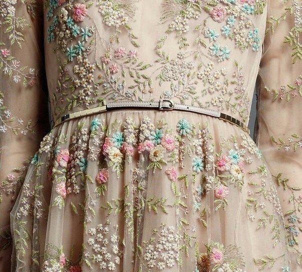 Роскошная вышивка — идеи для творчества и вдохновения