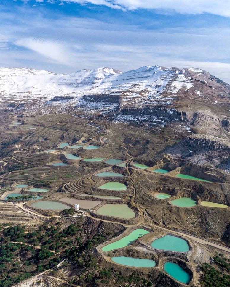 Ливан, который никогда раньше не видели