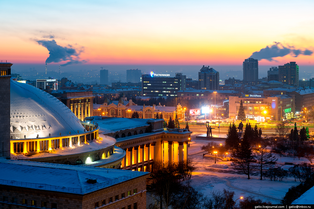 Зимний Новосибирск — 2017