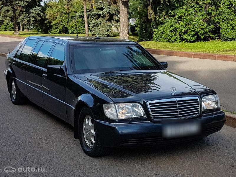 Президентский Pullman Бориса Ельцина выставили на продажу 500 тысяч евро