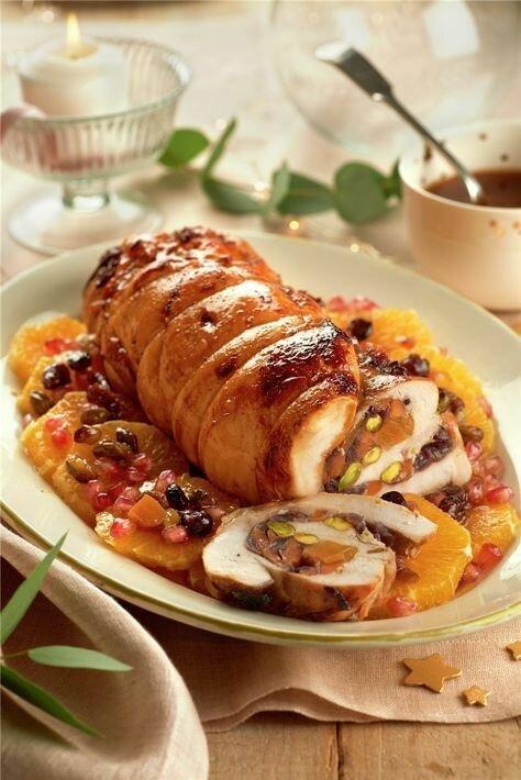 Рулеты из мяса птицы - нежно и сочно готовка, еда, идеи, кухня, рулеты