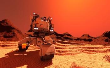 NASA сочло опасным строительство баз на спутниках Марса