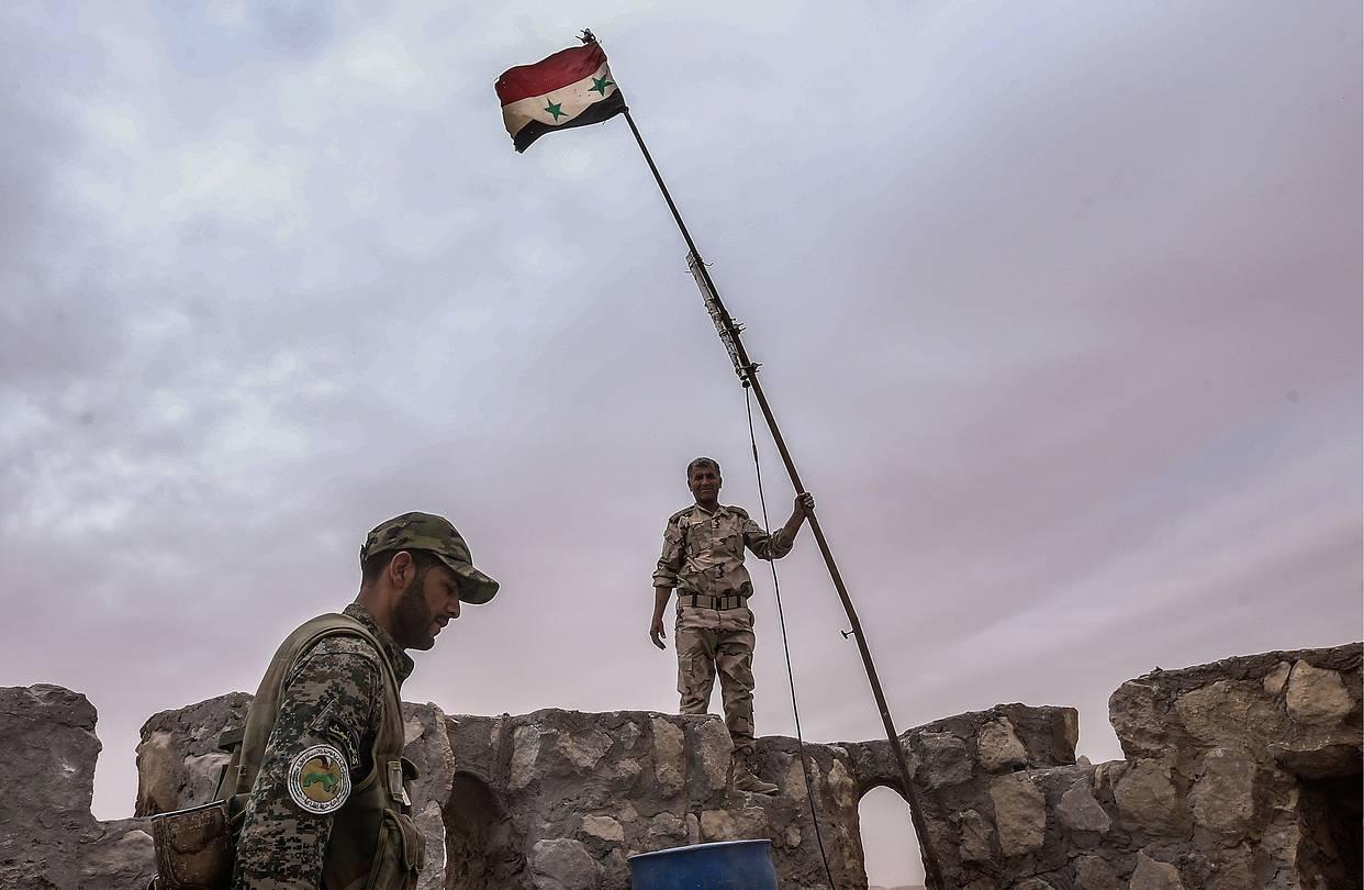 """Сирийская армия расколола """"котел"""" в Алеппо надвое"""