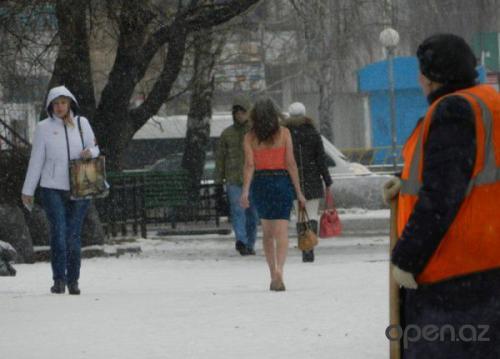 Женщина, которая не чувствует холода