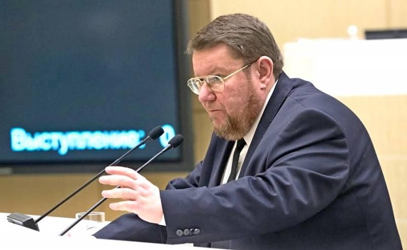 Потрясающее выступление Евгения Сатановского в Совете Федерации РФ