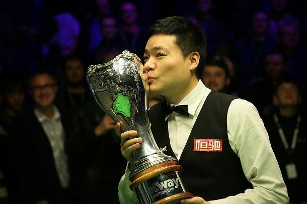 Дин Джуньху выиграл титул в …