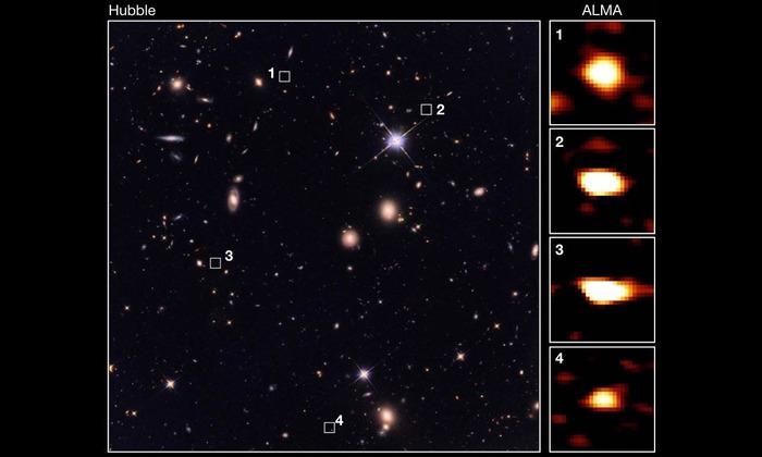 Кладовая ранних галактик