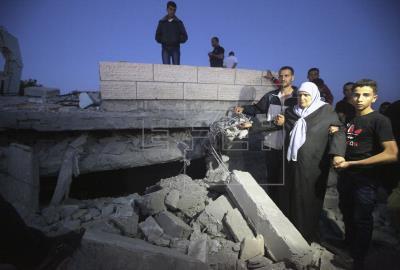 ISRAEL GAZA - Palestinos dic…