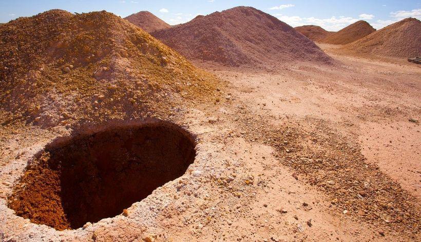 Нора белого человека: уникальный город, спрятанный под австралийской землёй