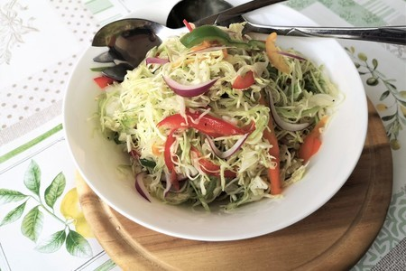Фото к рецепту: Салат «провансаль» -современное прочтение