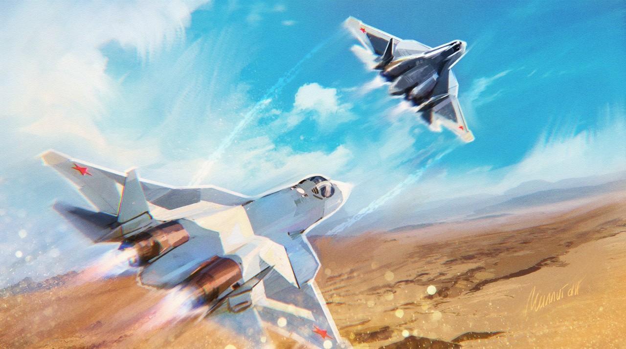 «Есть чему поучиться»: в Китае назвали ключевые преимущества Су-57 при столкновении с авиацией США