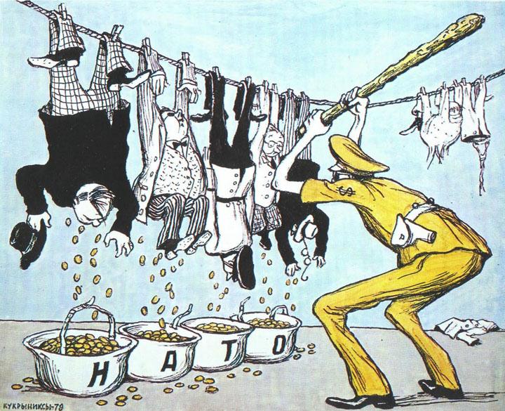 Страны НАТО продолжают выкидывать деньги