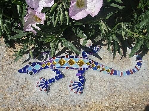 Ландшафтный дизайн: Мозаика в саду