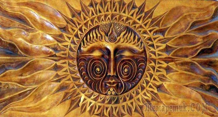 бог солнца в славянской мифологии