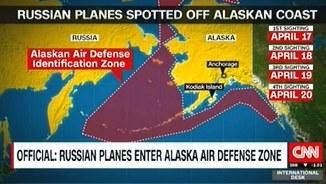 CNN: российские самолёты облетели побережье Аляски в очередной раз