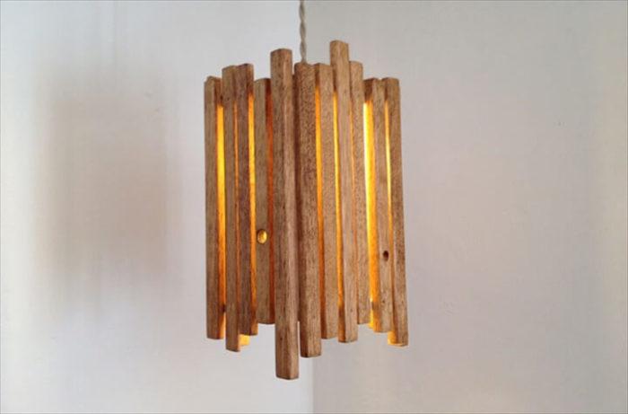 20 ламп из натурального дерева, при взгляде на которые остается только восхищенно вздыхать