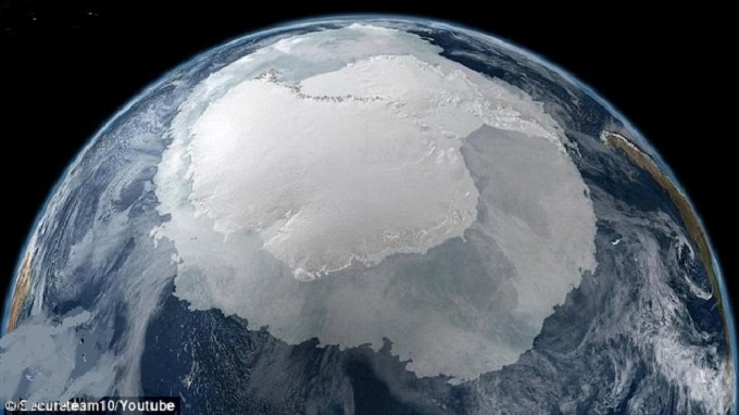Аномалии Антарктиды