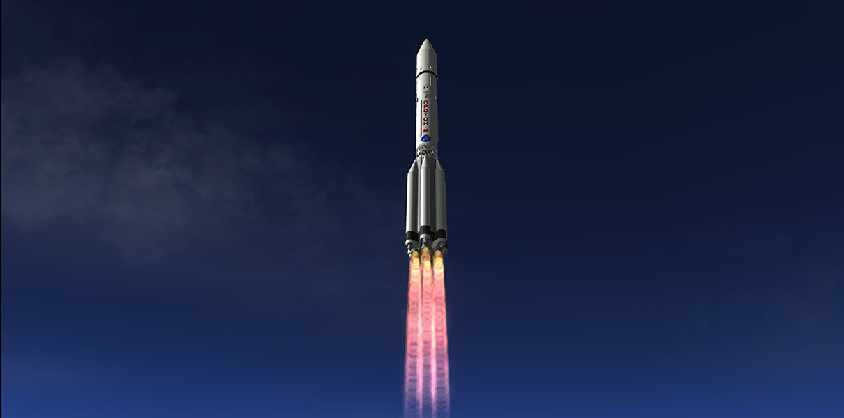 Российская ракета Протон-М станет прямым конкурентом Falcon 9