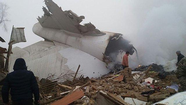 МАК опубликовал предварительный отчет о крушении Boeing 747 под Бишкеком