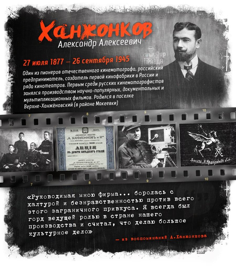 «Апостол русского кинематографа»: Александр Алексеевич Ханжонков