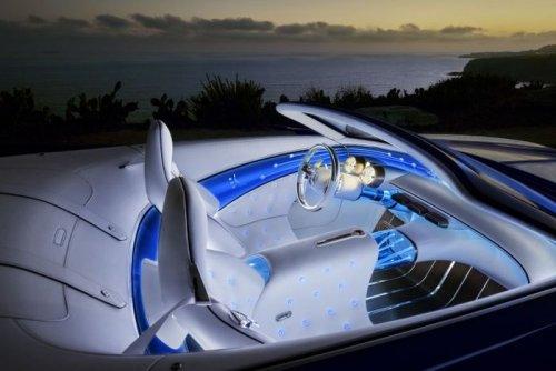 Роскошный концепт-кар Vision Mercedes-Maybach 6 от Daimler (14 фото)