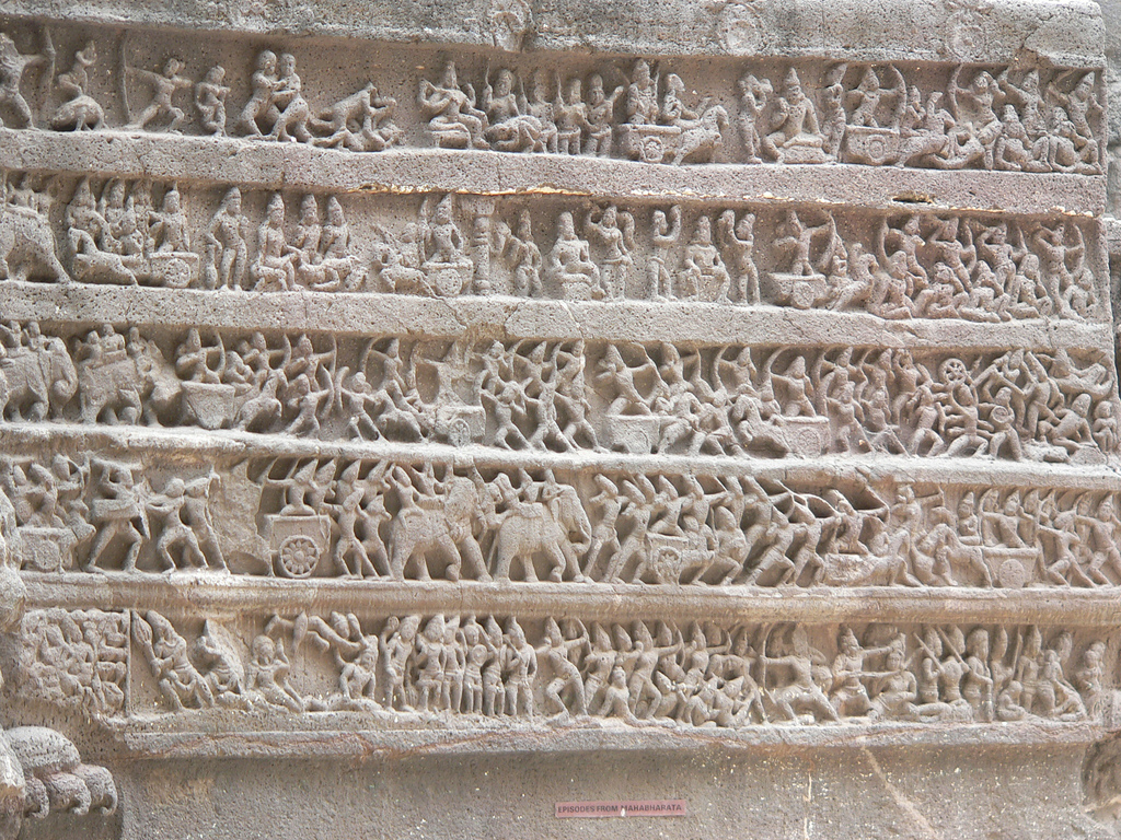 5077046022 c9404ebaab b Уникальный храм Кайласанатха