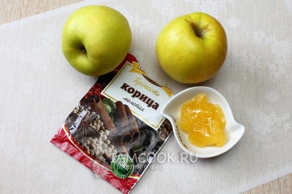 Ингредиенты для запекания яблок с медом