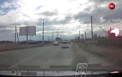 На базе приема металла в Чите прогремел мощный взрыв. Видео