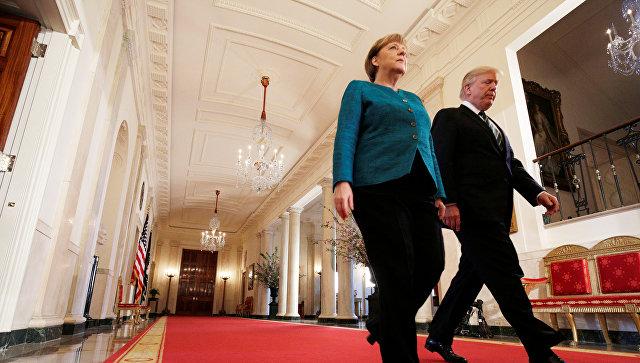 Бизнесмен Трамп выставил Меркель счет на 375 миллиардов долларов за услуги НАТО