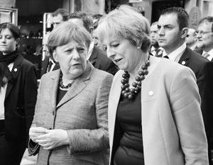 Европа не готова поддержать антироссийский призыв Мэй
