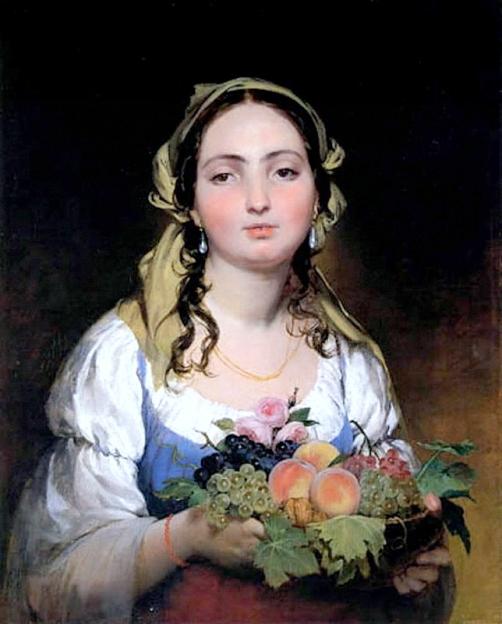 Портреты кисти одного из виднейших австрийских живописцев — Фридриха фон Амерлинга