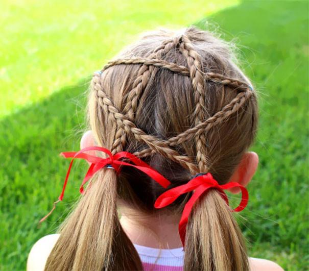 21. Звезда волосы, праздник, прическа, рождество