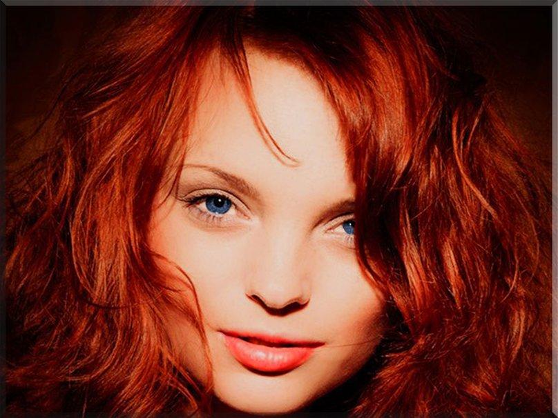 Рыжие и симпатичные девушки 2
